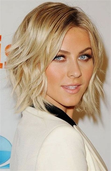 short to medium hairstyles with layers around the face short layered hairstyles 2016