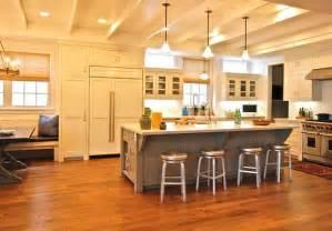 ilot central cuisine avec table int 233 gr 233 e deco moderne