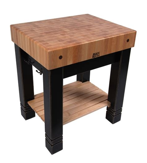 kitchen table butcher block boos butlers block traditional butcher block 1 200 4x4 legs i ll to use 2x6