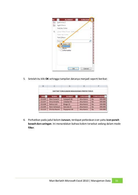Meja Belajar Di Bawah 300 Ribu ebook belajar excel 2010
