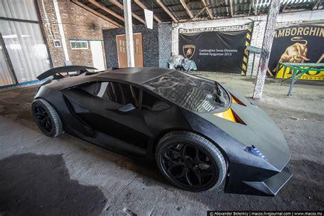 How To Make Lamborghini Car Hobbyists Build Epic Lamborghini Replica Carfanatics