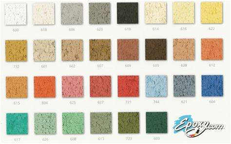 Epoxy Chip Flake Flooring Seamless Chemical Resistant Uv