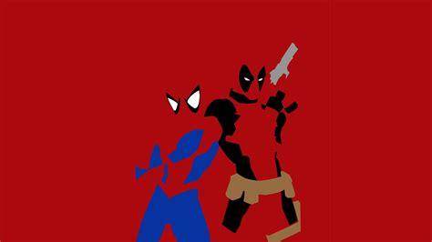 wallpaper cartoon man deadpool spiderman the most compatible superhero tag