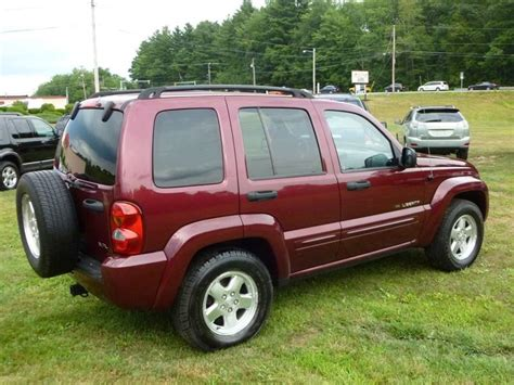 2003 Jeep Mpg 2003 Jeep Liberty Limited 4wd 4dr Suv In Hstead Nh