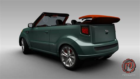 Kia Soul Convertible Is A Variant Of The Hamster