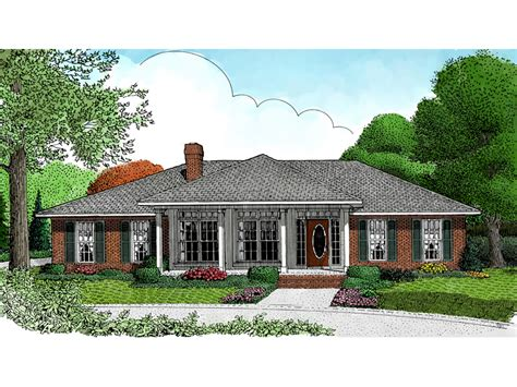 traditional ranch house plans honeydale traditional ranch home plan 067d 0005 house