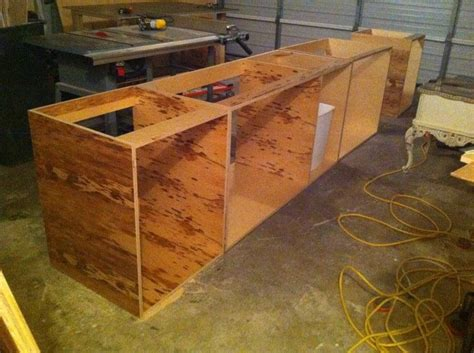 Building A Kitchen Cabinet by How To Build Your Own Kitchen Cabinets For The Home