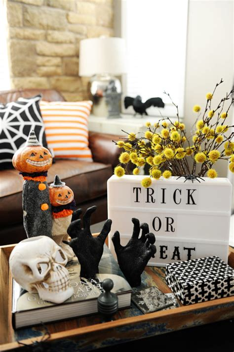 halloween decorations at home spooky halloween home decor ideas that look absolutely