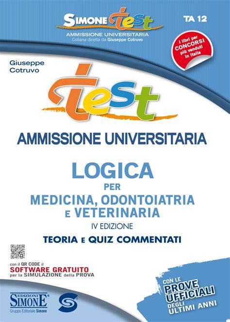 test medicina logica test ammissione universitaria logica per medicina