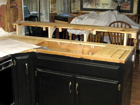 how to build a bar top counter auction girl vintage replacing kitchen countertops