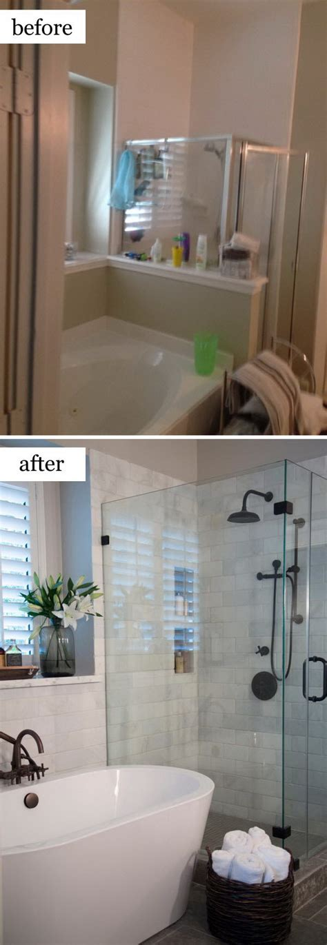 bathroom refinishing ideas before and after makeovers 20 most beautiful bathroom remodeling ideas noted list