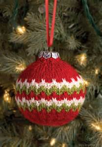 1000 ideas about knit christmas ornaments on pinterest