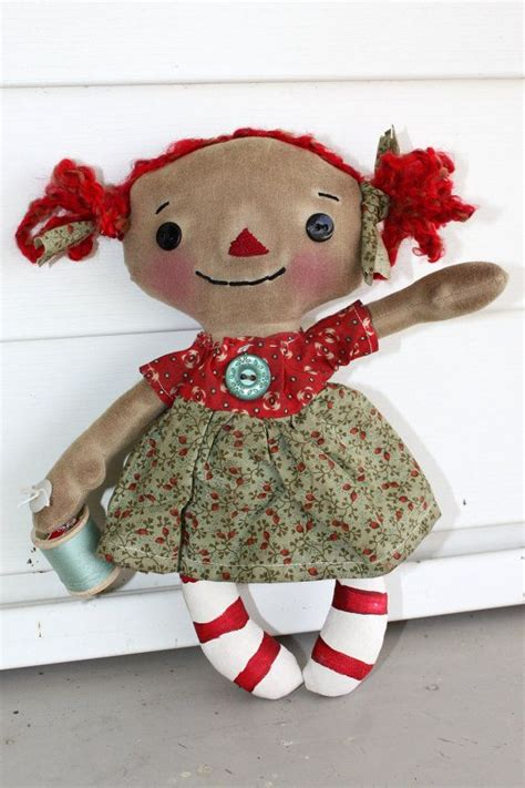 Raggedy Dolls Handmade - 436 best raggedy dolls images on raggedy