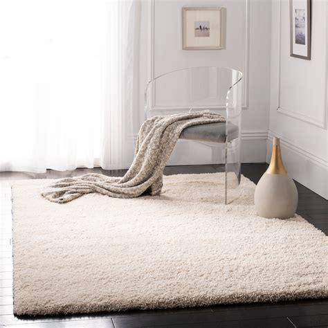 safavieh california cozy plush ivory shag rug5 3 x 7 6 ebay