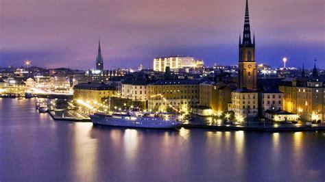 nuit de l eau ville su 232 de stockholm paysages mer papier