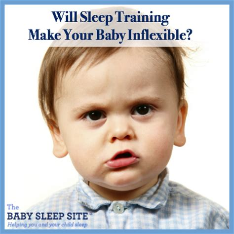 How To Make Your Baby Sleep In Their Crib Will Sleep Make Your Baby Inflexible The Baby Sleep Site Baby Toddler Sleep