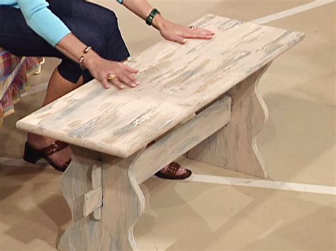 making a bench how to make a weathered wood bench how tos diy