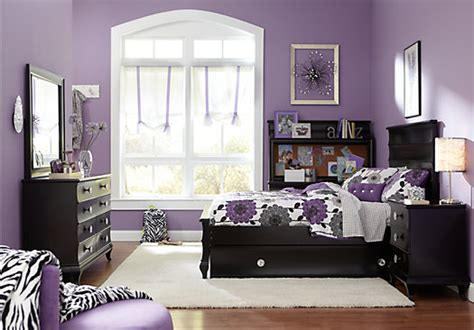 Full Bedroom Sets For Girls Milan Black 5 Pc Full Bedroom Bedroom Sets Black