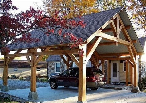 attached carport ideas 25 inspiring carport ideas attached to house wood