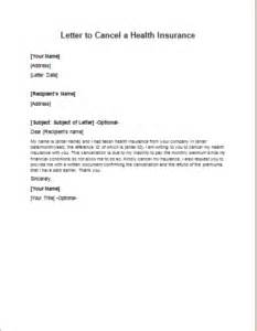 Policy Cancellation Letter Sample Malaysia Letter To Cancel A Health Insurance Writeletter2 Com