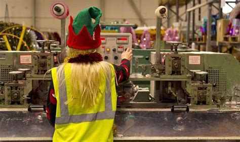 festive productions factory is one of uk s biggest tinsel