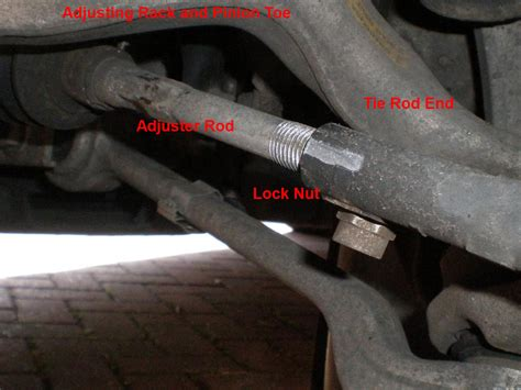 Rack In Pinion by How To Adjust The Alignment On Your Car S Front End