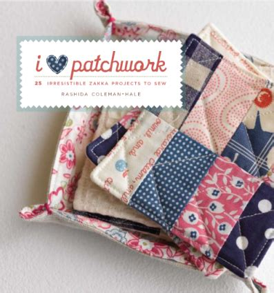Patchwork Press - how to make simple pretty patchwork the wallflower