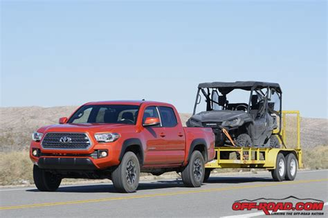 Toyota Tacoma Pulling Power 2016 Mid Size Truck Shootout Toyota Tacoma Gmc