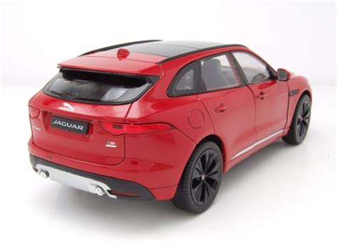 Jaguar Auto Rot by Jaguar F Pace 2016 Rot Modellauto 1 24 Welly 22 95