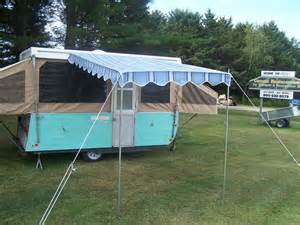 pop up awnings pop up cer deluxe awning 6 ebay