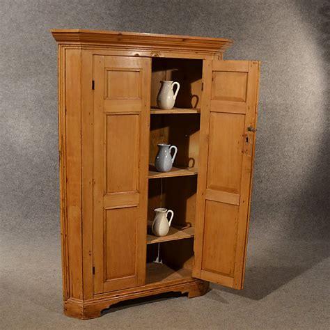antique pine cabinet for sale antique pine corner cabinet cupboard larder antiques atlas