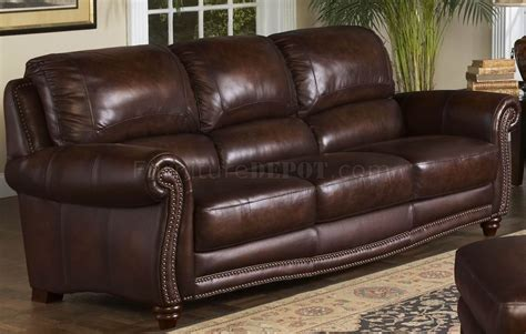 leather italia sofa leather italia tobacco james sofa loveseat set w options