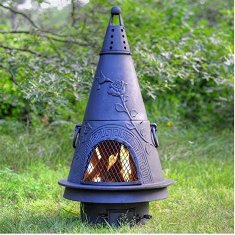 Best Buy Chiminea Chiminea Outdoor Fireplace Wood Burning Garden Design