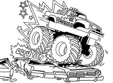 bigfoot monster truck coloring page bigfoot monster truck coloring pages colouring pages