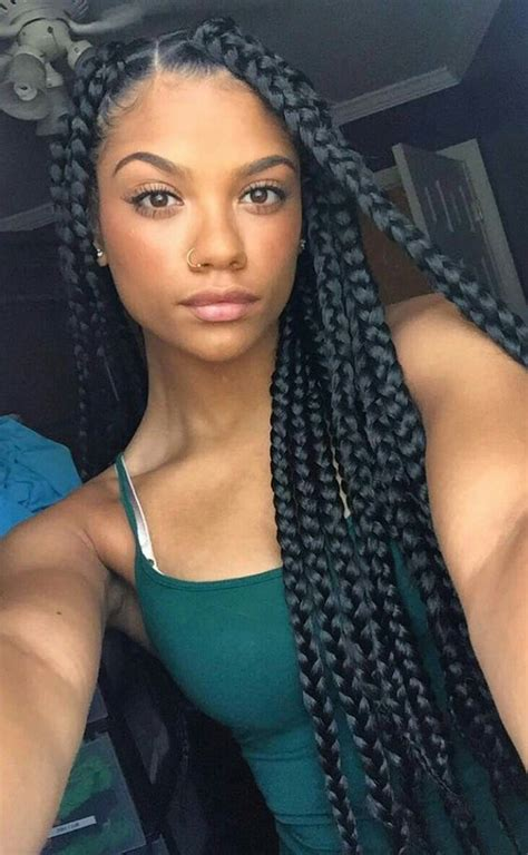 Large Box Braids Hairstyles by 42 Chunky Cool Jumbo Box Braids Styles In Every Length