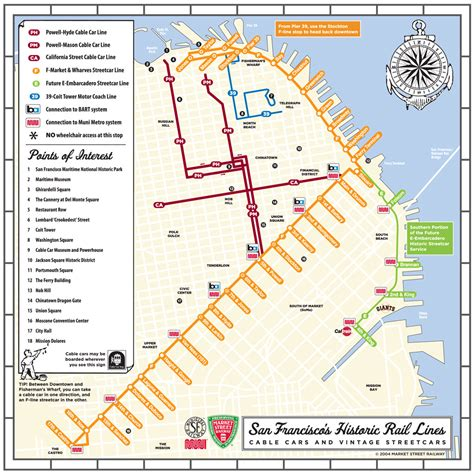 san francisco trolley map pdf san francisco cable car railfan guide