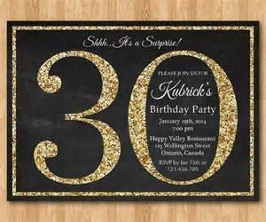 surprise 30th birthday party invitations dolanpedia