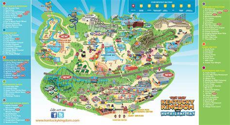 kentucky kingdom map new kentucky kingdom park map for 2014 louisville
