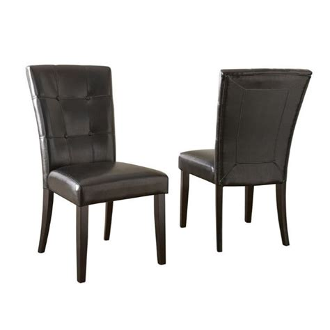 steve silver company monarch parsons dining chair mc500s