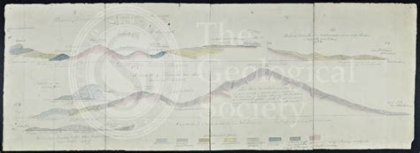 cross section of society geological cross sections of jamaica wall 1864