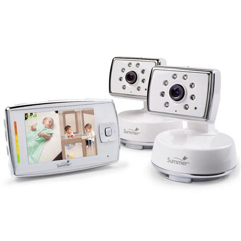 summer infant dual view digital color monitor set