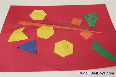 art using pattern blocks pattern block art