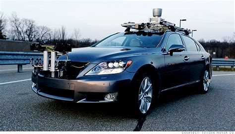 Self Toyota Toyota Unveils Self Driving Car Jan 4 2013