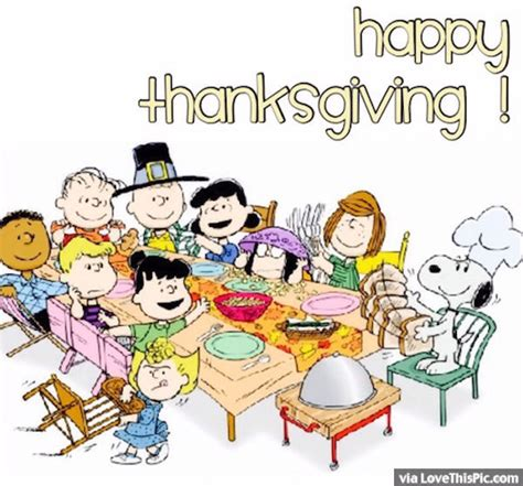 happy thanksgiving brown quotes peanuts happy thanksgiving quote pictures photos and