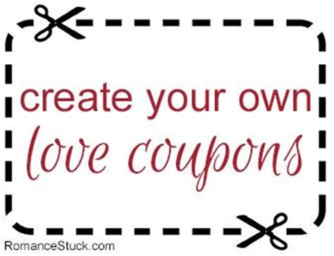 make your own coupons template 25 best ideas about coupons on boyfriend