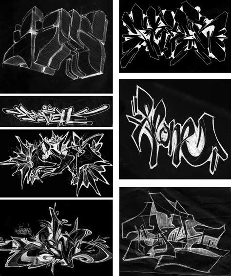 sketsa graffiti