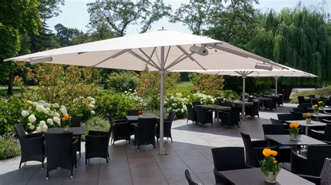 Large Umbrella Patio Caravita Exclusive Commercial Patio Umbrellas