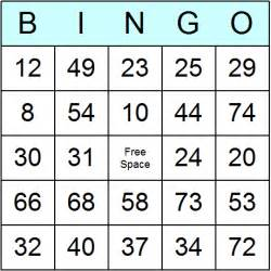 free printable bingo cards template bingo card templates for printable and activities