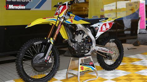 first motocross 2018 suzuki rm z450 first impression transworld motocross