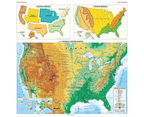 political map of usa maps of the usa the united states of america political